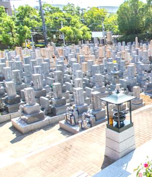 墓地 トップバナー